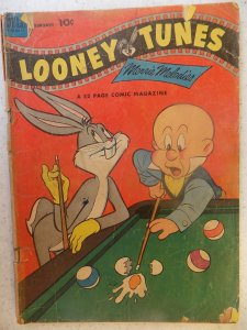LOONEY TUNES AND MERRIE MELODIES # 136 STRESS AND WEAR LOWER GRADE COVER IS A...
