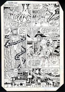 FIRESTORM #24-1984-RAFAEL KAYANAN-ORIGINAL ART-DC-1984-PG 16-RARE