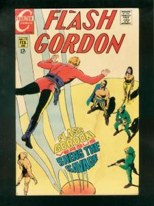 FLASH GORDON #12-1969-CHARLTON-CRANDAL-SHENG THE SAVAGE G/VG