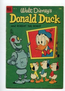 Donald Duck 28  VG- Robert the Robot  Barks Cover