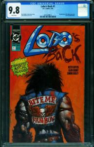Lobo's Back #1 1992-CGC 9.8-First issue-DC 2015338012