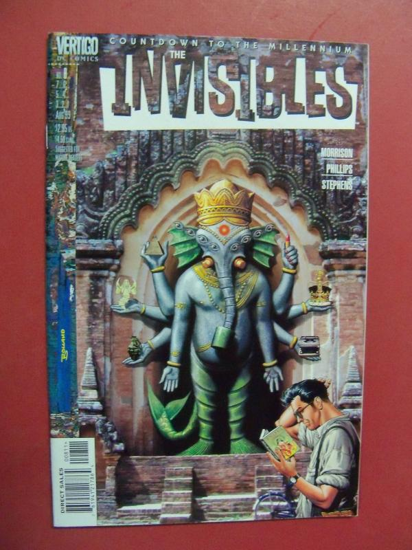 THE INVISIBLES #8   (9.0  VF/NM)  DC VERTIGO
