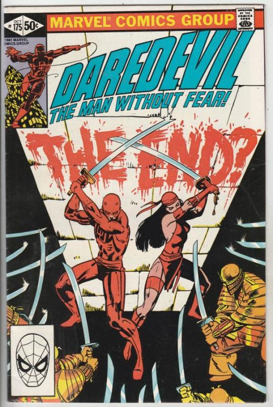 Daredevil #175 (Oct-81) VF/NM High-Grade Daredevil