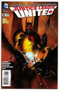 New 52 Justice League United #8 (DC, 2015) VF/NM