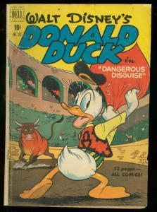 DONALD DUCK-FOUR COLOR #308 1951-DANGEROUS DISGUISE VG