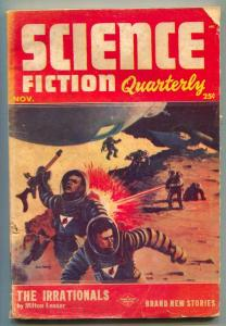 Science Fiction Quarterly Pulp November 1953- Irrationals