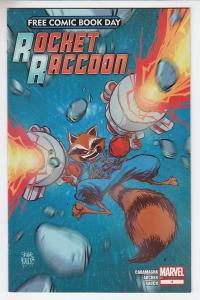 Rocket Raccoon Marvel Comics Unstamped NM- FCBD 2014