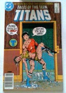New Teen Titans #45 DC 1984 NM Copper Age 1st Printing Comic Book