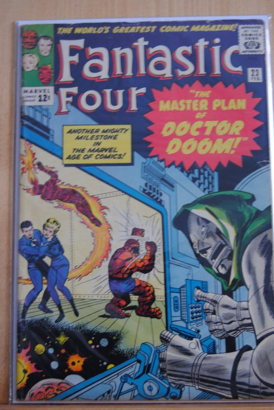 Fantastic Four 23, Dr. Doom