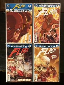 The Flash Rebirth Special #1, #1, #6 & #7 1st Cameo & Full App. of Godspeed