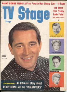 TV Stage 7/1957-Perry Como-Iriah McCalla-Lucy & Desi-Sid Caesar-VG