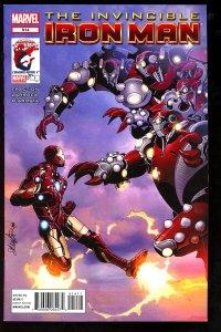 Invincible Iron Man #514 (2012)