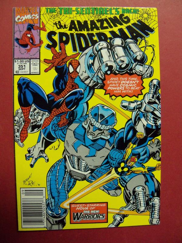 THE AMAZING SPIDER-MAN #351 (VF/NM 9.0) OR BETTER MARVEL COMICS HIGH GRADE