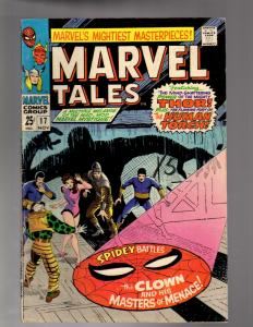 MARVEL TALES 17 VERY GOOD  Nov. 1968