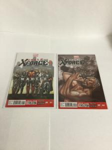 Cable And X-Force 1 2 Nm Near Mint Marvel Comics