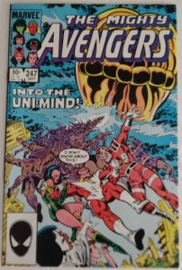 AVENGERS #247 The Eternals Appearance Marvel Comics ID#MBX2