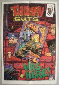 THUMP'N GUTS Promo Poster, 13x19, 1993, Unused, more Promos in store