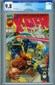 X-Men #1 CGC Graded 9.8 1991 Wolverine cover 3822059024