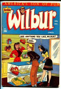 Wilbur #16 1947-MLJ-spicy Good Girl Art-Katy Keen-Bill Woggon-lingerie poses-FN-