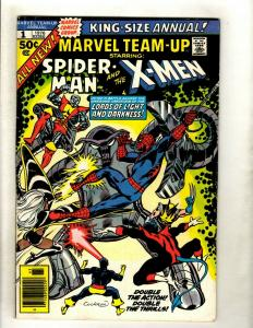 Marvel Team-Up ANNUAL # 1 FN/VF Comic Book Spider-Man X-Men Wolverine Storm HY1