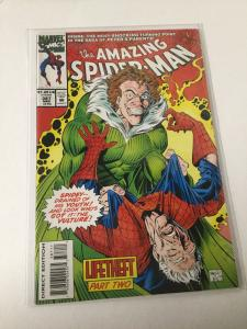 The Amazing Spider-Man 387 Nm Near Mint Marvel