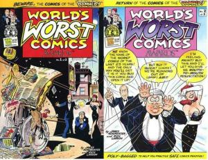 WORLDS WORST COMICS AWARDS (1990 KS) 1-2 Richard Larson