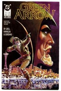Green Arrow-#1 comic book 1988-mike grell-1st issue NM