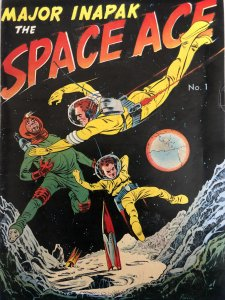Major Inapak-The Space Ace#1- promo product comic!!A Cold War Gem &TDF#10ra