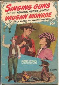 Fawcett Movie Comics-1950-Fawcett-Singing Guns-Vaughn Monroe-VG-