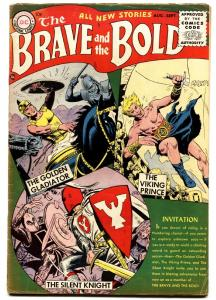 BRAVE AND THE BOLD #1 1955-DC COMICS-JOE KUBERT-RUSS HEATH