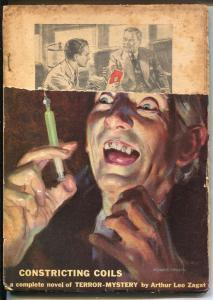 Detective Story 7/1939-pulp crime-needle cover-Hugh B Cave-Zagat-FR/G