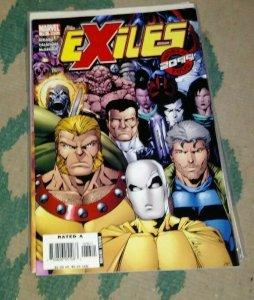 Exiles # 76   2006 Marvel   xmen A2099 WORLD TOUR PT 8 SPIDERMAN MIGUEL OHARA