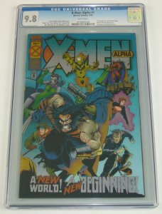 X-Men: Alpha #1 CGC 9.8 begins age of apocalypse - joe madureira  1st dark beast