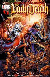Lady Death: A Medieval Tale (Brian Pulido's…) #2 VF/NM; CrossGen | save on shipp