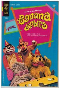 BANANA SPLITS (1969-1971 GK)  4 Hanna Barbera VF COMICS BOOK