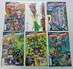 Justice League vs Suicide Squad set #1 to #6 - #1 is 8.0 otherwise NM  - 2017
