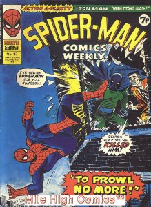 SPIDER-MAN WEEKLY  (#229-230) (UK MAG) (1973 Series) #97 Fine