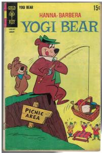 YOGI BEAR (1959-1970 DELL/GK) 42 GD- Jan. 1969