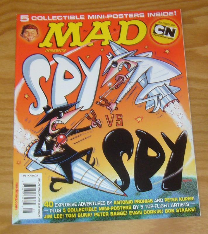 Mad Presents Spy vs Spy #1 VF/NM evan dorkin - peter bagge - jim lee - very cool