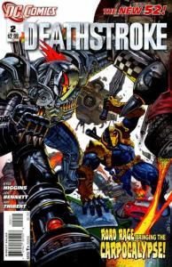 Deathstroke #2 (VF/NM) 2011 DC Comics ID#000