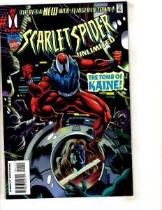 6 Marvel Comics Scarlet Spider Unlt # 1 + Rom # 5 + Shadow Riders # 1 2 3 4 CR48