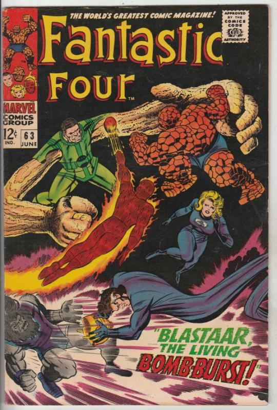 Fantastic Four #63 (Jun-67) VF/NM High-Grade Fantastic Four, Mr. Fantastic (R...