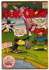 Fox and the Crow #40 1957- DC Funny Animal comic VG/F