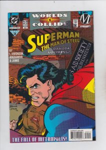 DC Comics! Superman! The Man of Steel! Issue 35!