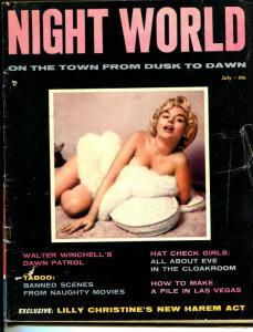Night World #1 1957-1st issue-Joyce Miles-Lilly Christine-VF