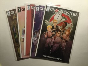 Ghostbusters Answer The Call 1 2 3 4 5 Lot Run Set Near Mint Nm Idw
