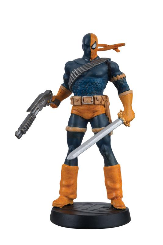 DC Superhero Collection #9 Deathstroke Figure w/Booklet (Eaglemoss, 2016) New!