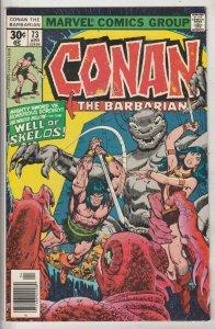 Conan the Barbarian #73 (Apr-77) NM- High-Grade Conan the Barbarian