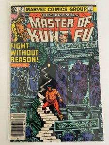 Master of Kung Fu (1974 series) # 104  Marvel comic VF