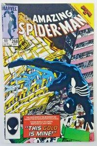 Amazing Spider-Man 268  HIGH GRADE  BLACK COSTUME, SECRET WARS II  1985